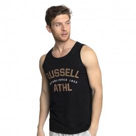 Ανδρική αμάνικη μπλούζα RUSSELL ATHLETIC Singlet A1-012-1-099 Μαυρο