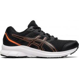 Παιδικά Παπούτσια για Τρέξιμο ASICS Jolt 3 GS(1014A203-005)ΜΑΥΡΟ/ΠΟΡΤΟΚΑΛΙ