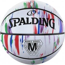 Μπάλα μπάσκετ Spalding Marble Series Rainbow 84 397Z1