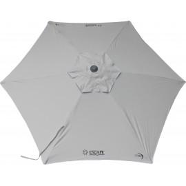 Ομπρέλα Παραλίας/Κήπου Escape 2.4m 6 Ακτίνες Silver Grey 12206