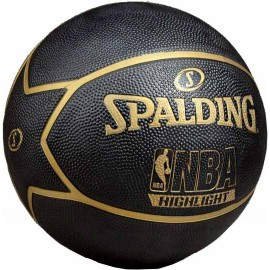 Μπάλα μπάσκετ Spalding NBA Highlight gold Star (83 194Z1)