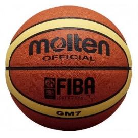 Δερμάτινη μπάλα μπάσκετ MOLTEN BGM7 indoor/outdoor