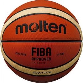 Δερμάτινη μπάλα μπάσκετ MOLTEN (BGM7X) indoor outdoor