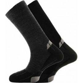 ΣΕΤ 2 Ζευγάρια κάλτσες Horizon 828001 2Pack Black