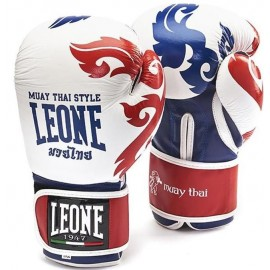 Γάντια προπόνησης LEONE Muay Thai (GN031 wht)