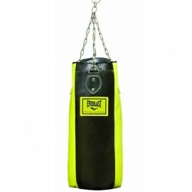 Σάκος του μποξ EVERLAST PU BOXING BAG ΜΑΥΡΟΣ/ΚΙΤΡΙΝΟΣ 75 CM (3076)