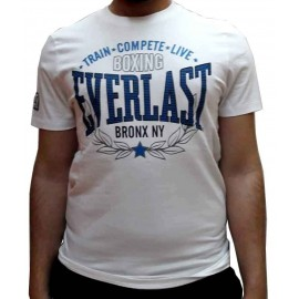 Ανδρικό αθλητικό μπλουζάκι Train από την Everlast Evr4669 Wht