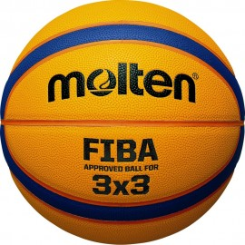 ΜΠΑΛΑ ΜΠΑΣΚΕΤ MOLTEN B33T5000 SYNTHETIC SIZE 6 FIBA APPROVED FOR 3x3