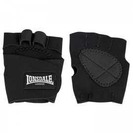 Γάντια γυμναστικής Lonsdale Neo Weight Lifting Glove Black