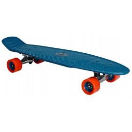 """Skateboard Plastic (28"""") Nijdam ( 52NH BLR ) Blue"""