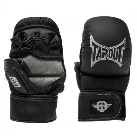 Γάντια MMA Tapout Striking and Training Gloves 762359 ΜΑΥΡΟ/ΑΣΗΜΙ