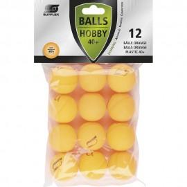 Μπαλάκια ping pong sunflex προπόνησης πορτοκαλί (97261)