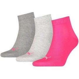 Κάλτσες Puma Quarter Black 3Pack 271080001 656