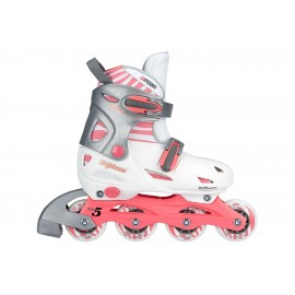 Inline Quads Roller Skate Girls ρυθμιζόμενα Nijdam (52SC)